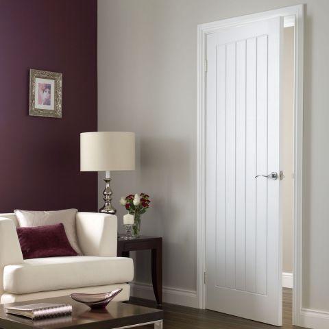 Premdor Moulded 5 Panel Vertical Fully Finished Internal Door