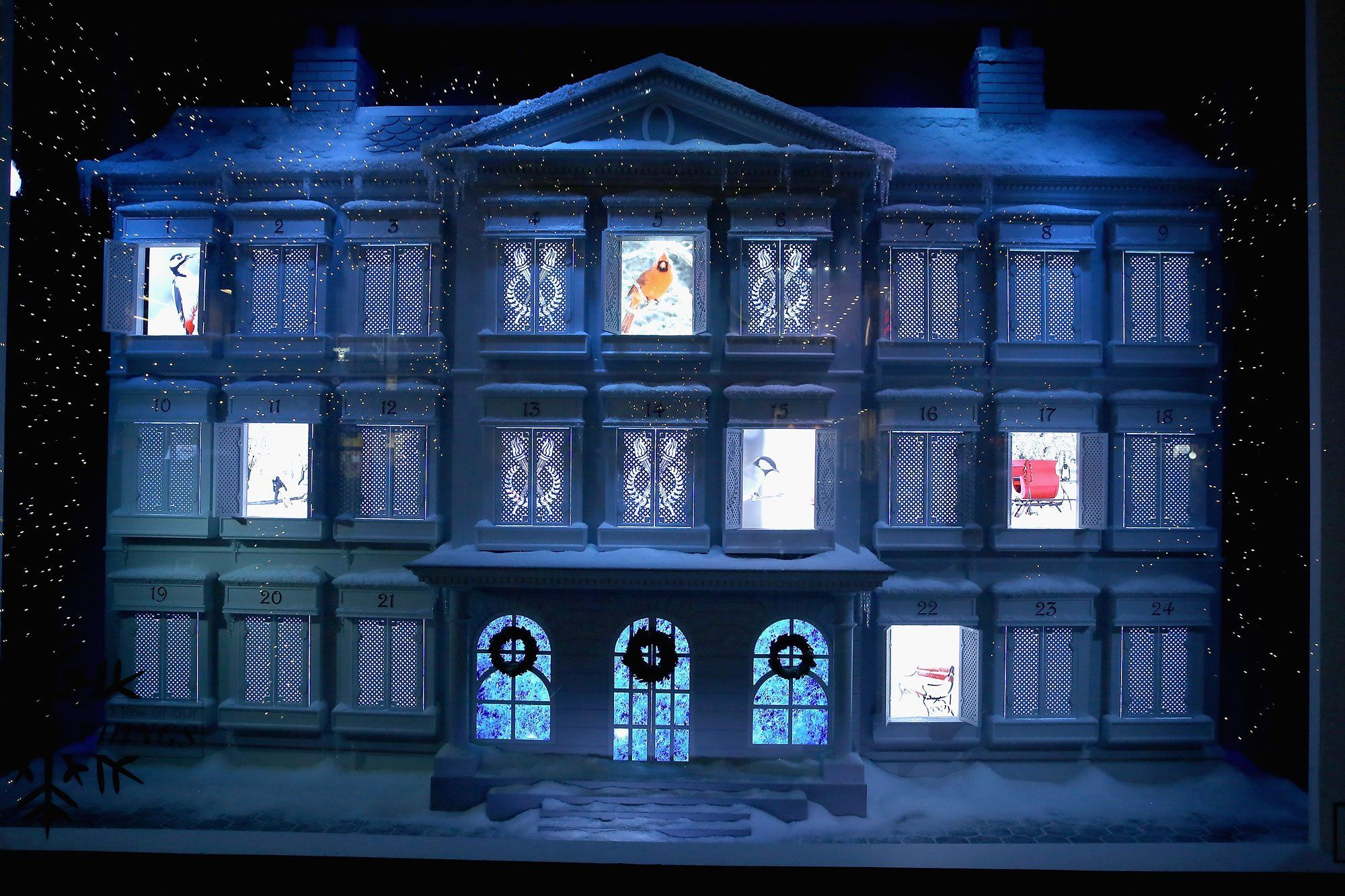 New York City Holiday Windows 2015 | Lord and Creative studio