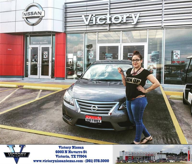 Congratulations Geralyn On Your Nissan Sentra From Eduardo Duran At Victory Nissan Victorious Nissan Duran