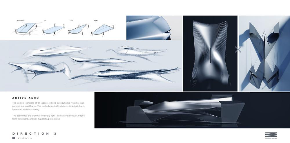 Vindil Race Car Concept On Behance Concept Car Inspiration Race Cars