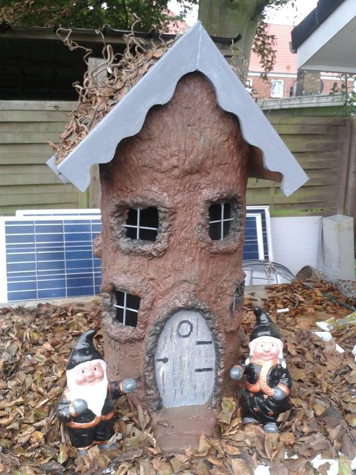 Concrete fairy house by annemarie dinesen fairy tree