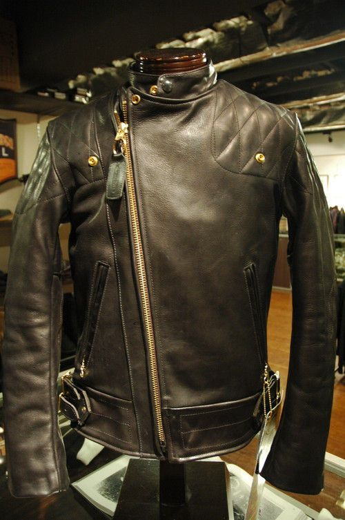 Vanson Leathers Chopper Leather Jacket From Insurrection / Thurston Bros. Rough Wear, Seattle, WA