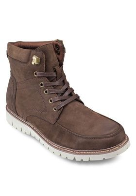 Leather Boots from 24:01 in brown_1