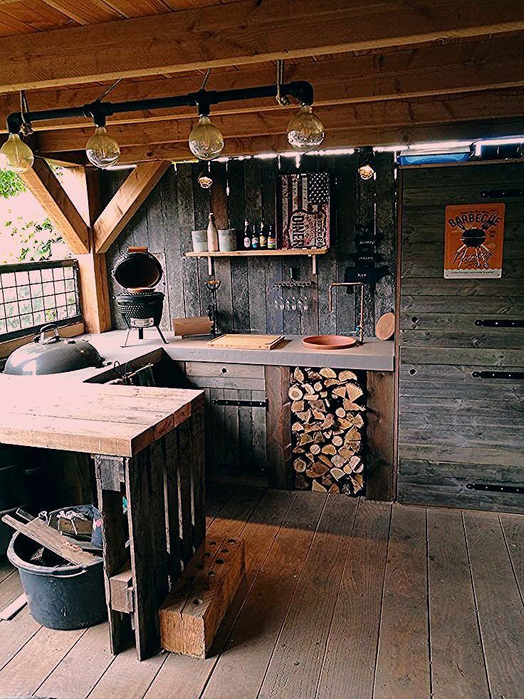 Photo of Outdoor Küche – rustikal und trotzdem gemütlich! Tolle Außenküche im Garten – Einrichtungsideen
