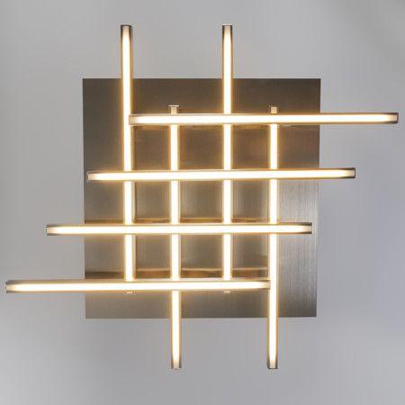 Plafón WEB 8 acero #iluminación #diseño #interiorismo Luces led