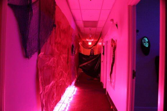 Pin on Halloween Haunted House Decor Idea