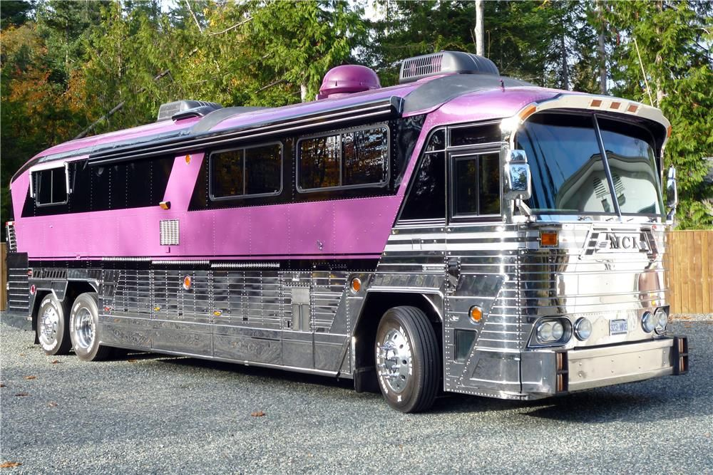 For sale at auction number 53 of 100 motor homes built by for Custom motor coach builders