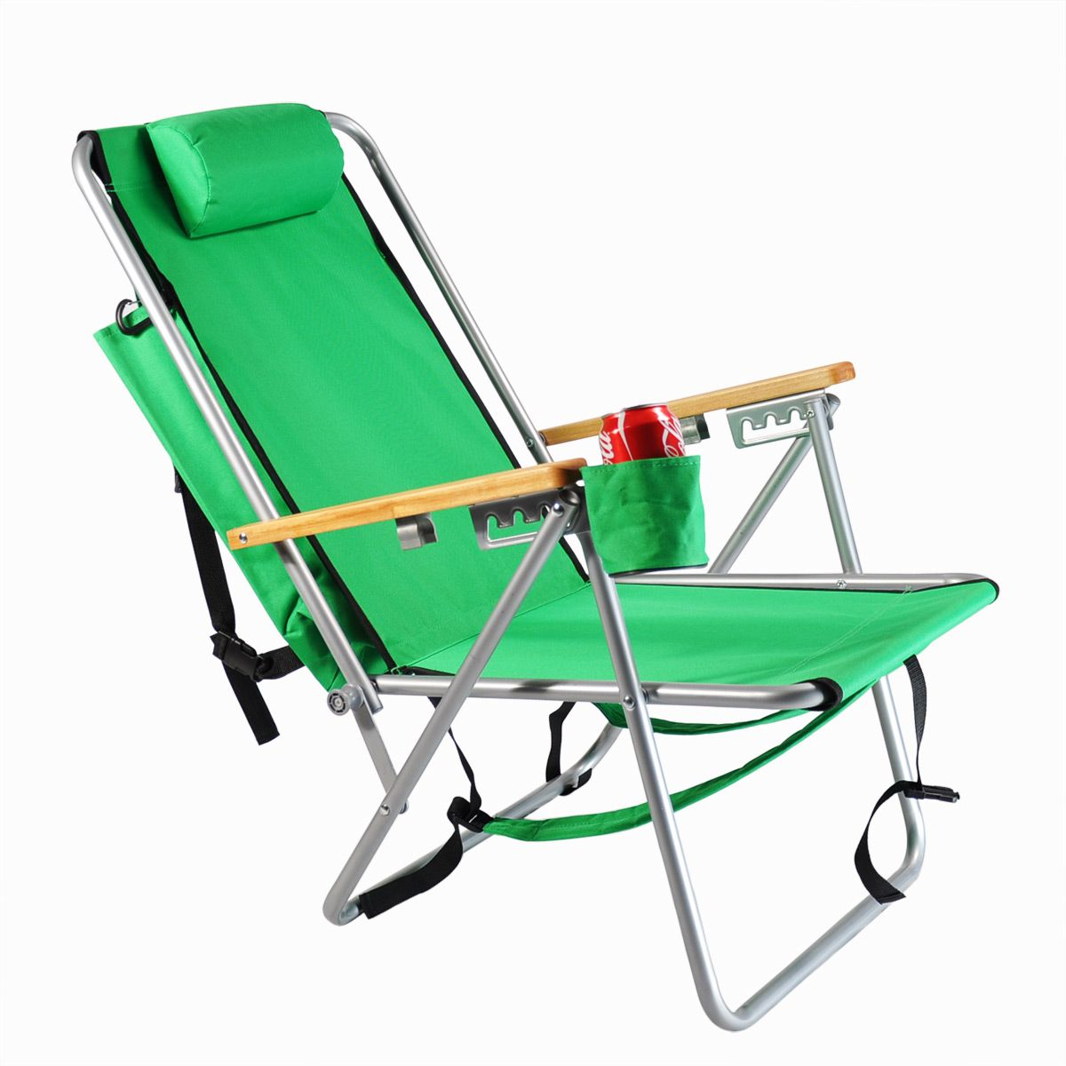Hot Custom Logo Promotional Folding Beach Chair Cheap