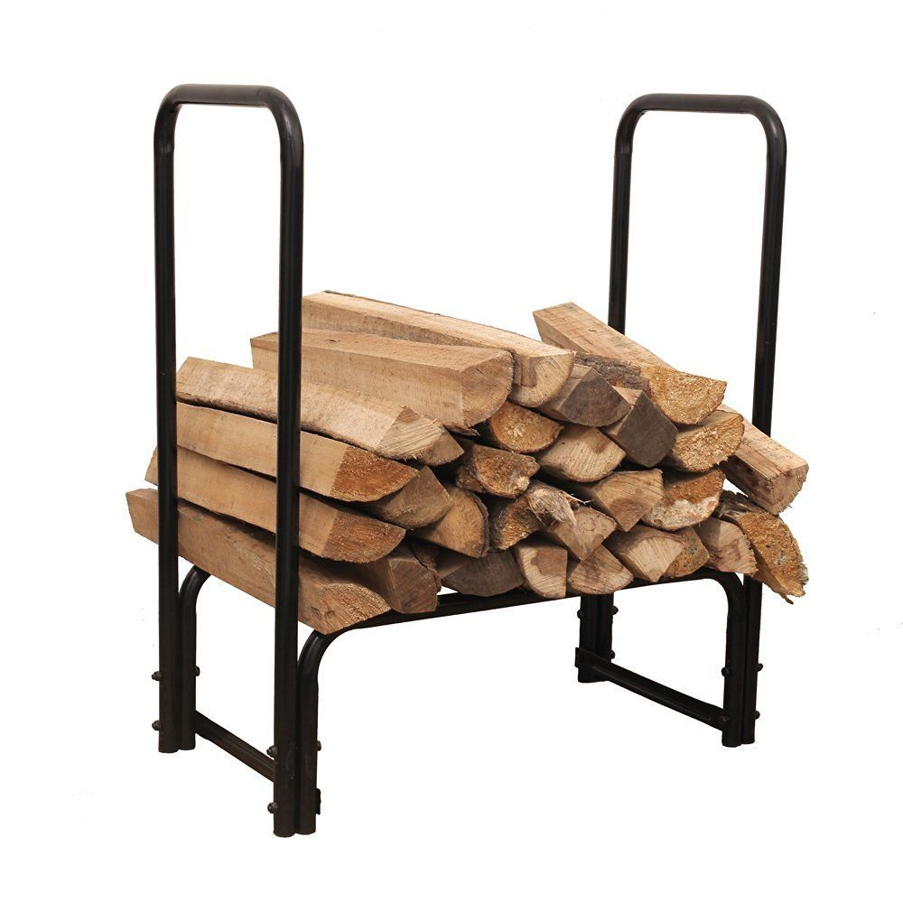 x pin rack tall fireplace kindling holder sunnydaze firewood wide inch with log