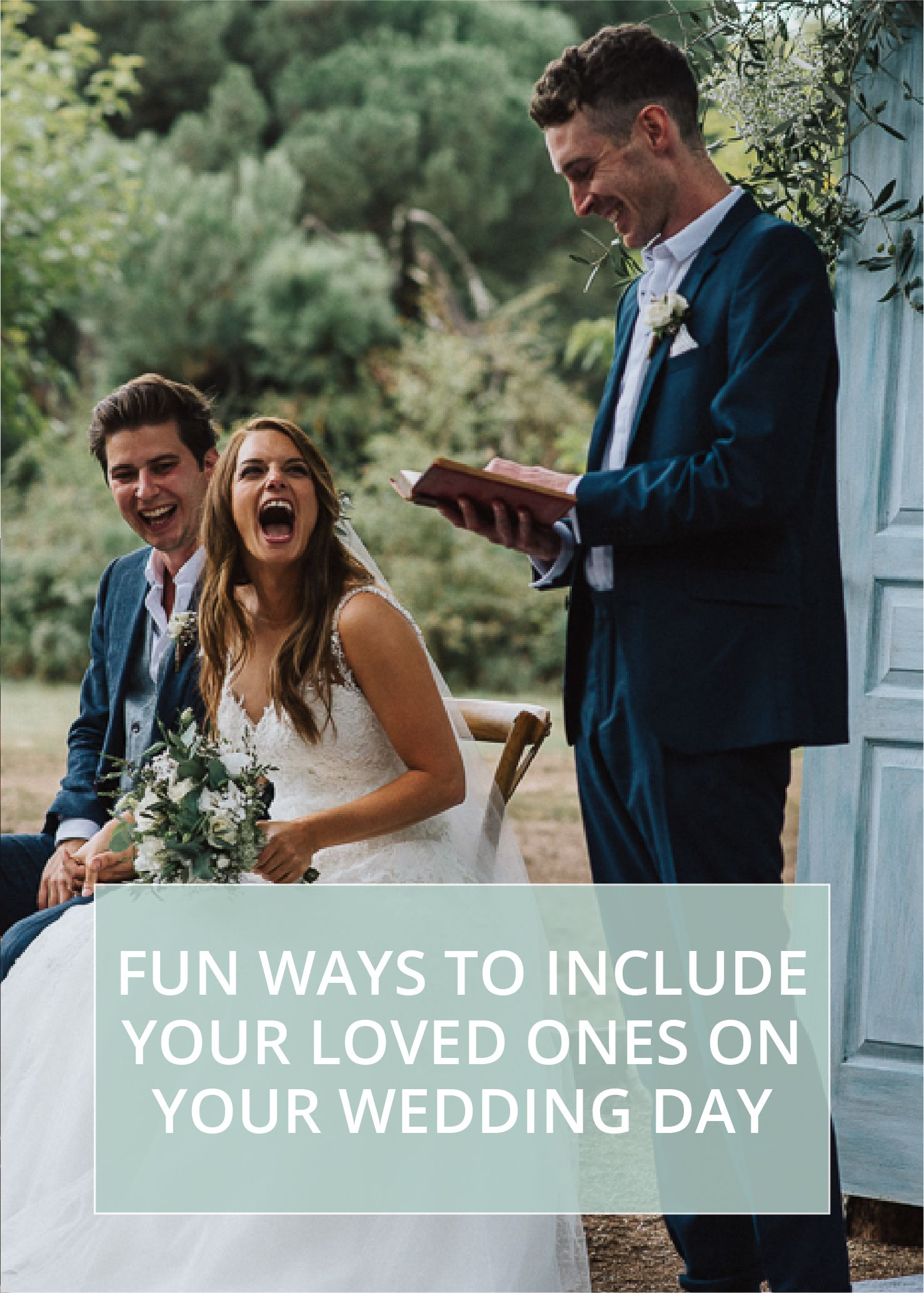 Fun Ways To Include Your Loved Ones On Your Wedding Day -   16 wedding Party roles ideas