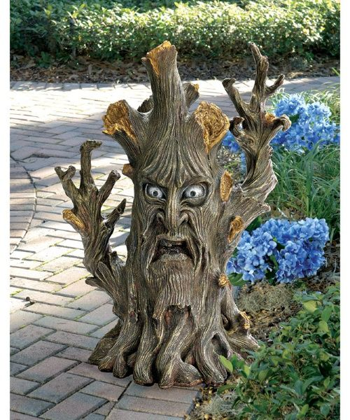 Design Toscano Bark The Black Forest Ent Tree Garden Statue   The Bark The  Black Forest Ent Tree Garden Statue Adds A Touch Of Tolkien To Any Setting.