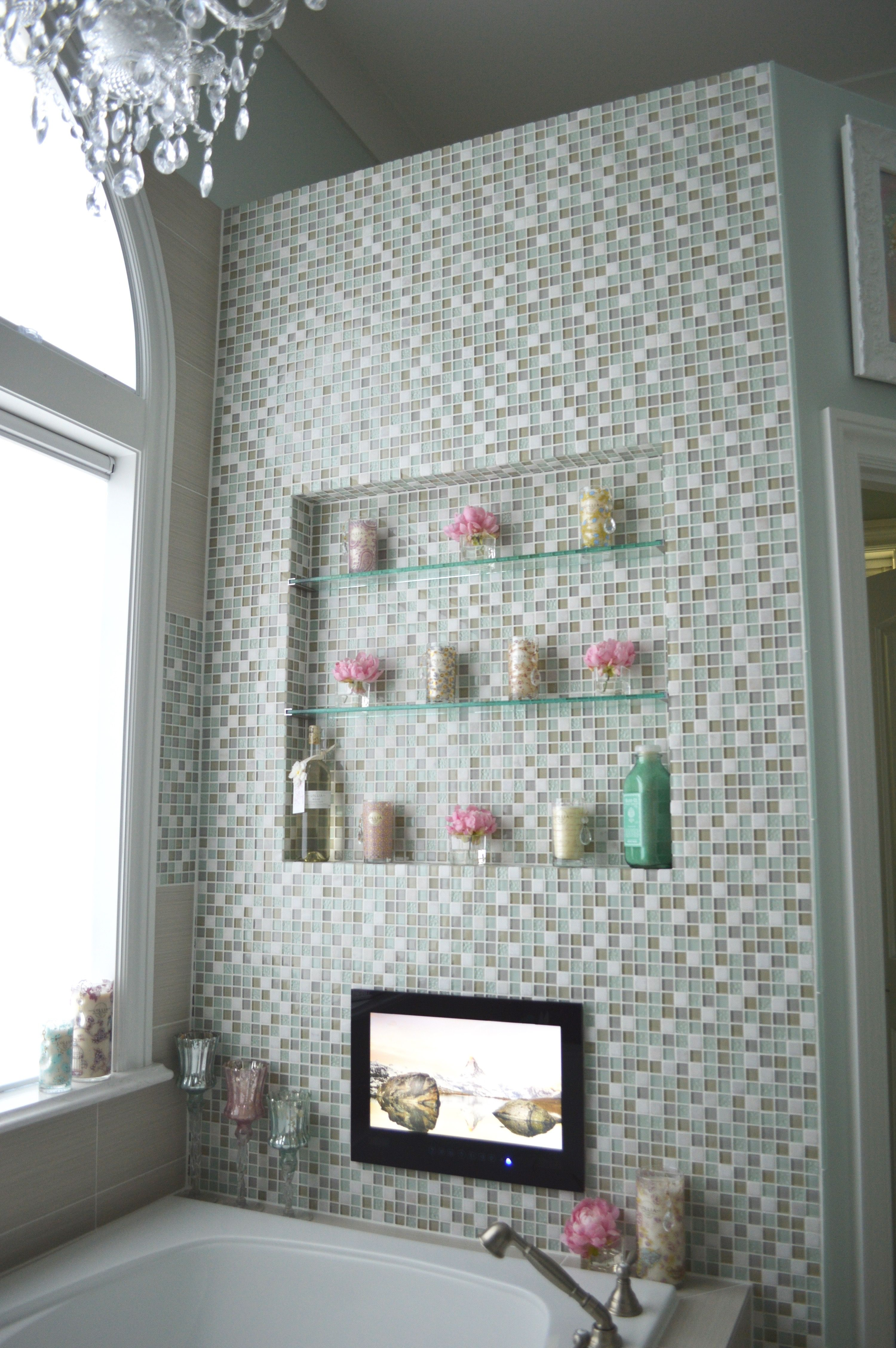 Mosaic Tile Accent Wall