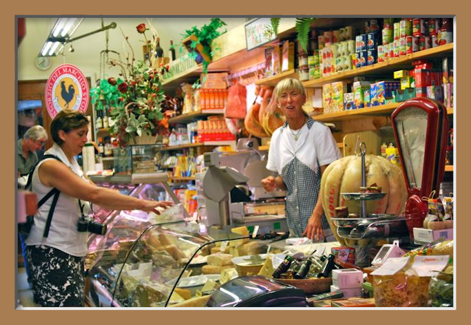 Gourmet Shop in Radda i Chianti