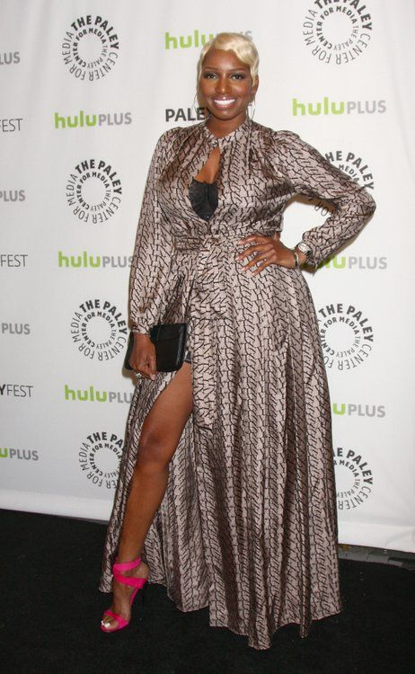 NeNe Leakes flashes some leg at the 30th Annual PaleyFest - 'The New Normal'