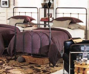 Cottage Iron Trundle Bed Designer Ideas