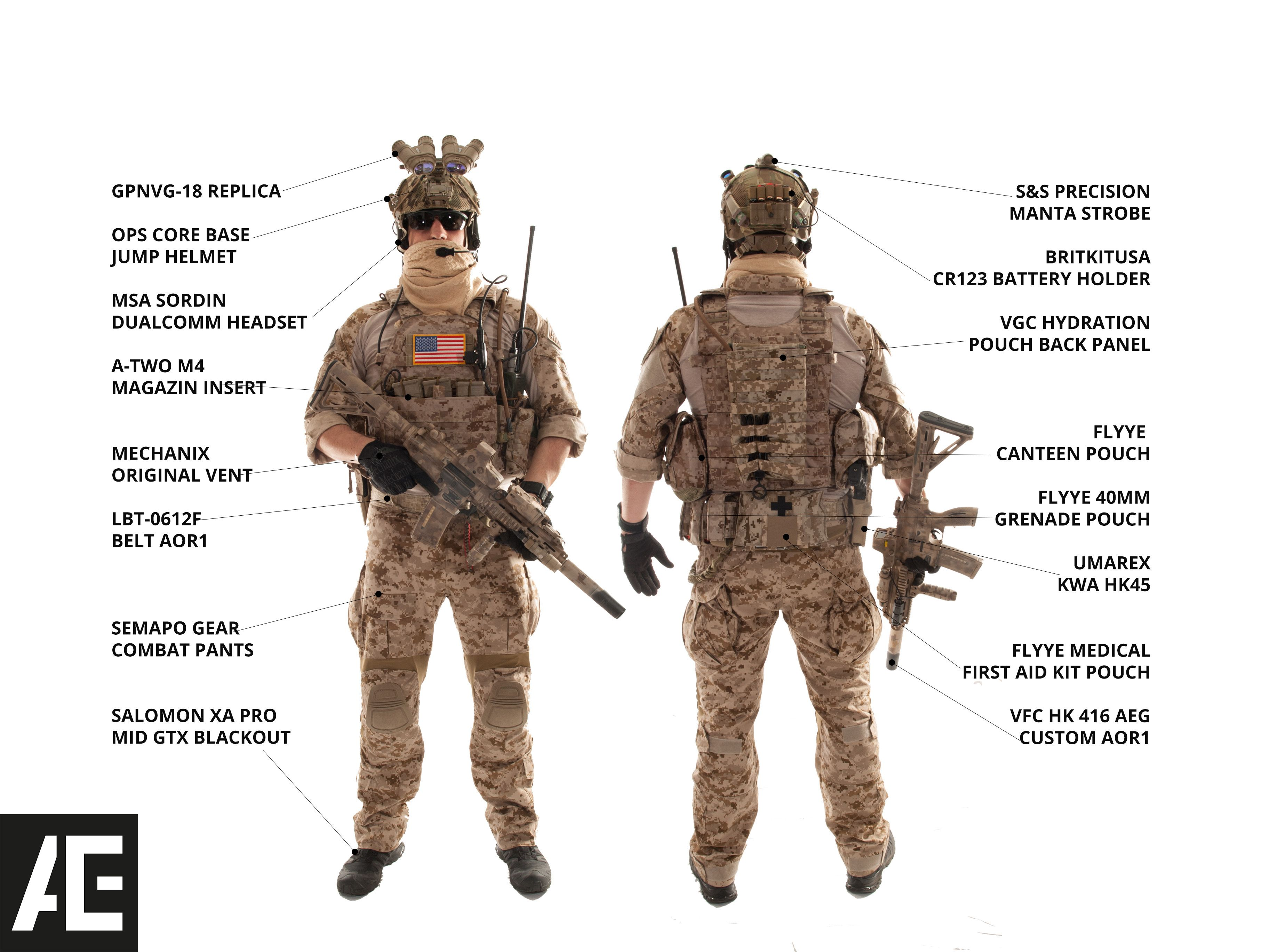 Bien-aimé GEAR GALLERY // NAVY SEAL GEAR KITLIST 2013 | Tactical & Outdoor  KN94