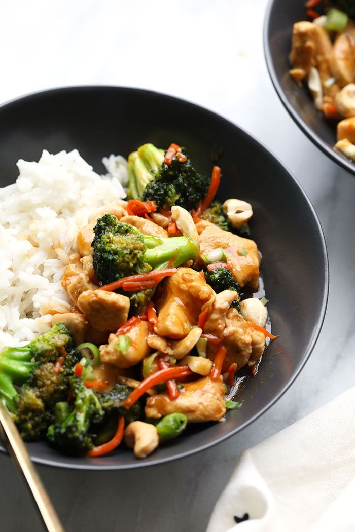 Need A Healthy 30 Minute Meal This Ginger Chicken Is Just As Good