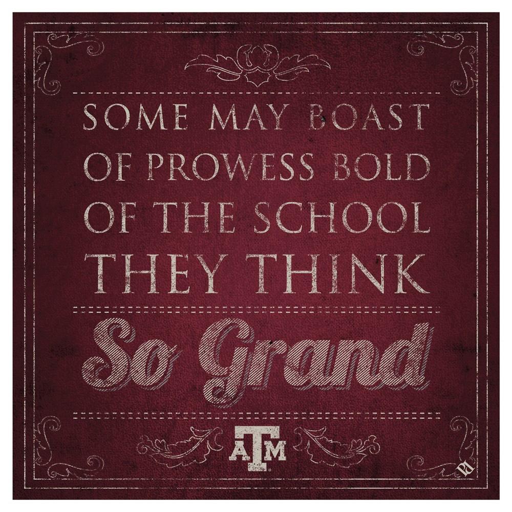 NCAA Texas A&M Aggies ThirstystoneSpirit Trivets