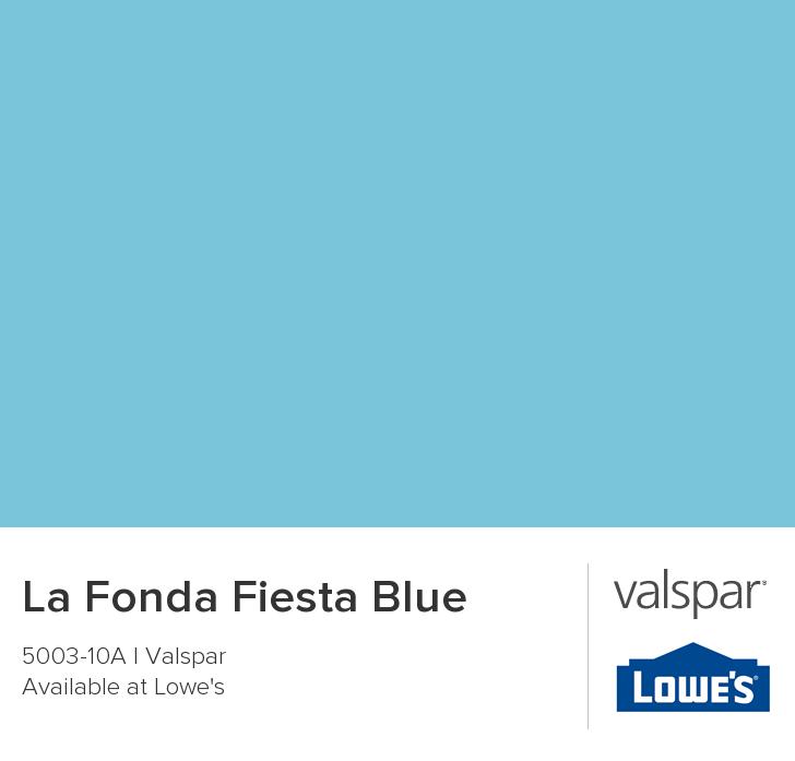 La Fonda Fiesta Blue From Valspar Paint Colors In 2019