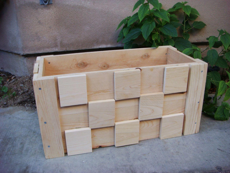 Redcedarwoodcraft Wood Planters Wood Pallet Signs Wood Planter Box