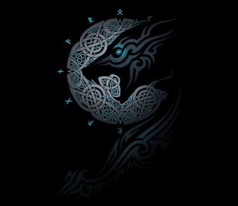 Ragnarok Moon Celtic Nature Nordic Tattoo Tattoos Norse Tattoo