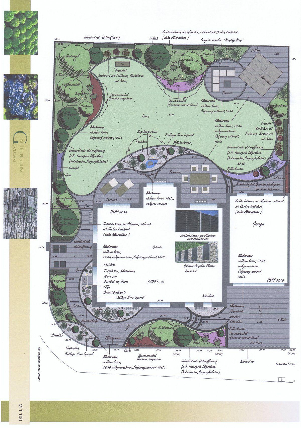 Www Gartenplanung Golubski De Garten Geschwungen Garten Grundriss Garten Feng Shui Garten