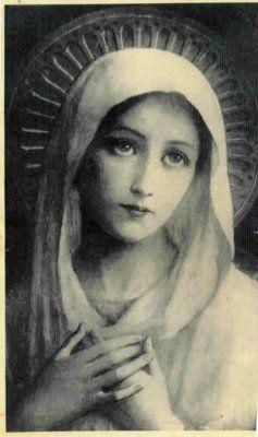 Warum soll eine Abstraktion der Theologie richtiger sein als das fühlende Herz? our blessed mother mary
