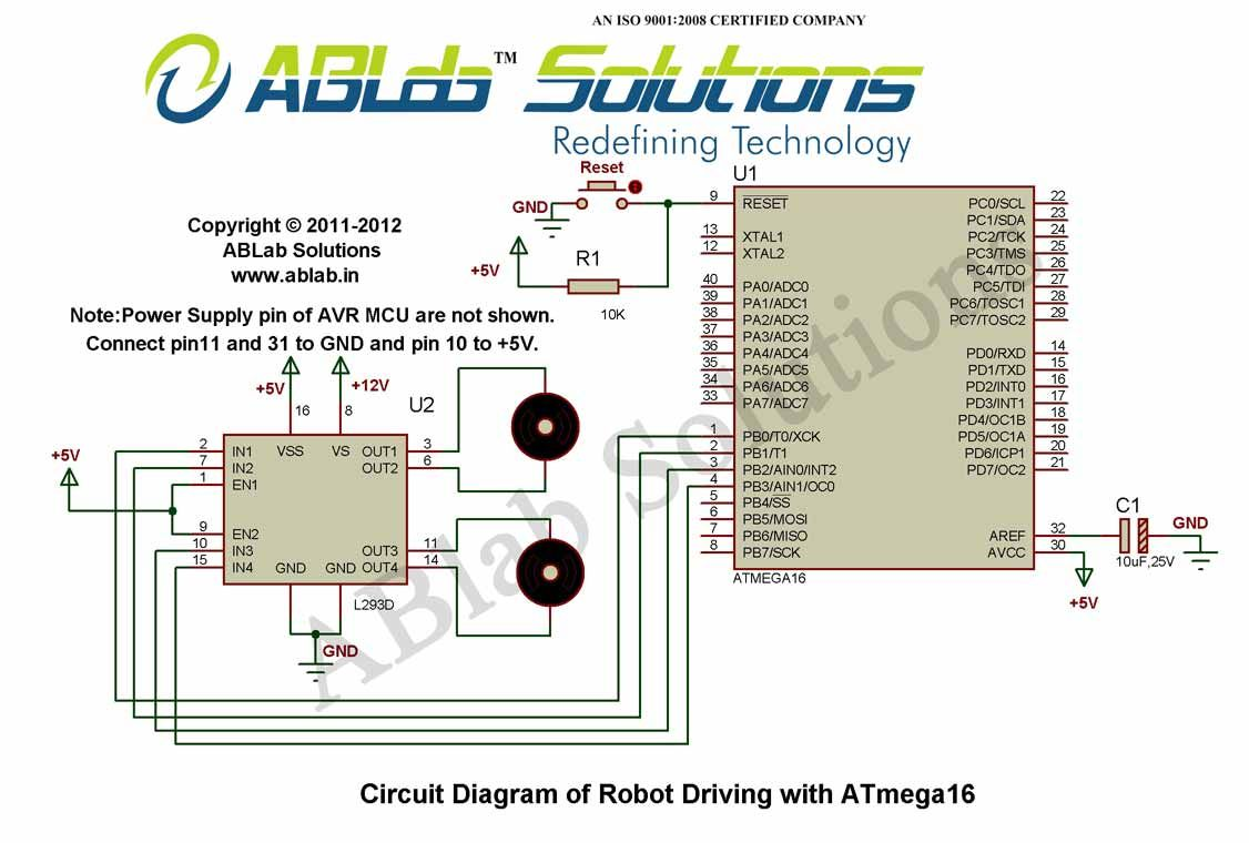 robot driving with avr atmega16 microcontroller circuit diagram rh pinterest com Party Favors From Pinterest Party Favors From Pinterest
