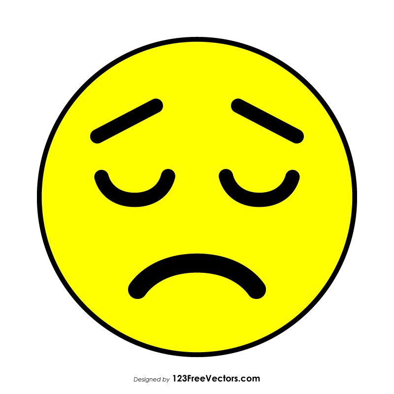 Disappointed Face Emoji Emoji Free Vector Art Graphic Image