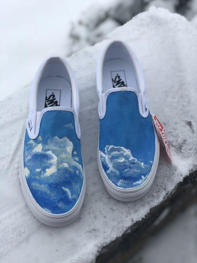 cloud slip on shoes