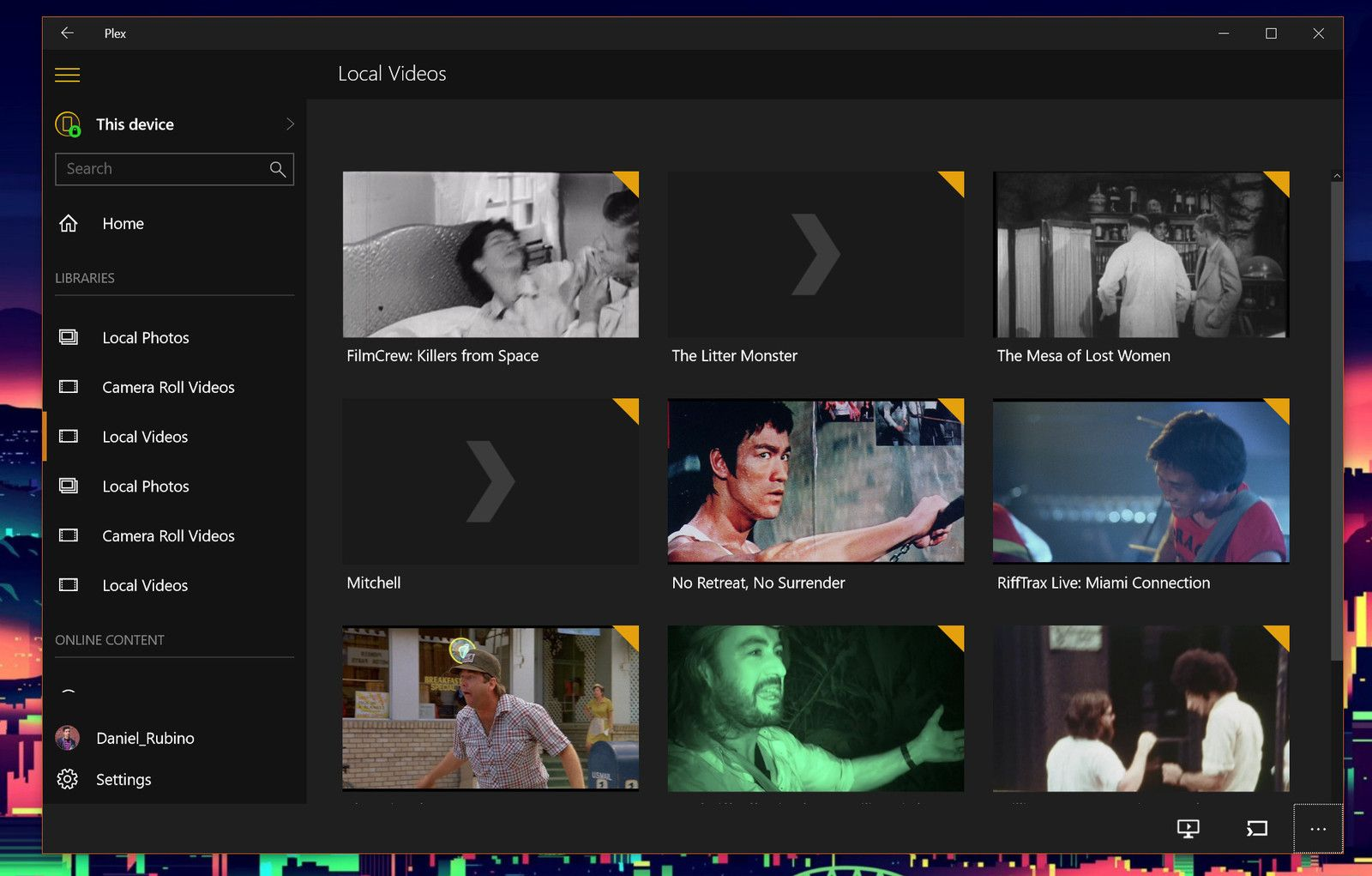 video player for windows 10 home