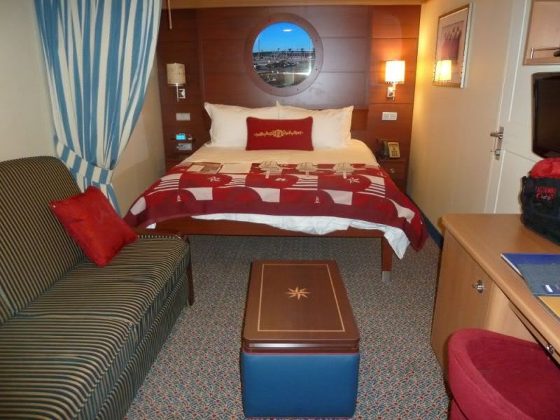Inside Staterooms on the Disney Dream