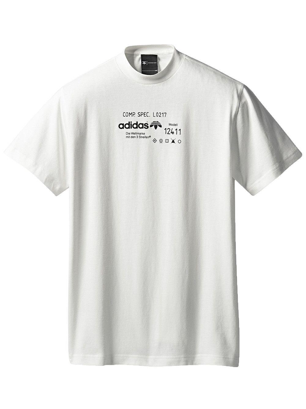 Adidas Originals By Alexander Wang T Shirt Mit Logo Print