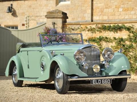 1937 All-weather Tourer by Thrupp & Maberly (chassis B170KT)