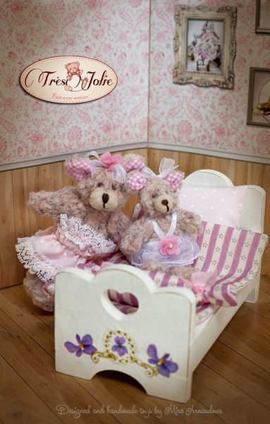 This set including two little bears with 2 blankets, 2 pillows and doll bed.  Everything in this set is hand made. It's first part from our little ... #bearbedpillowdolls This set including two little bears with 2 blankets, 2 pillows and doll bed.  Everything in this set is hand made. It's first part from our little ... #bearbedpillowdolls This set including two little bears with 2 blankets, 2 pillows and doll bed.  Everything in this set is hand made. It's first part from our little ... #bearbe #bearbedpillowdolls