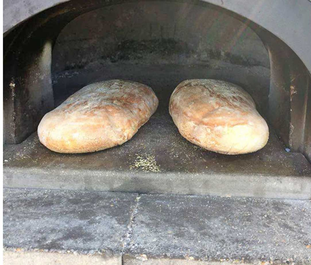 Wood fired baked bread sent from one of our oven friends #woodfired #bakedbread #artisanbread
