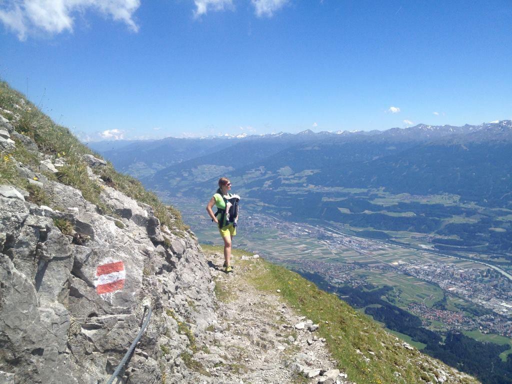 Klettersteig Innsbruck Nordkette : Nordkette goetheweg innsbruck s most breathtaking views urlaub