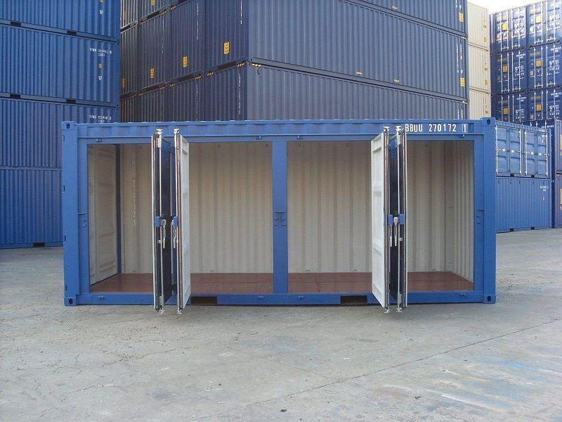 Portable storage rental
