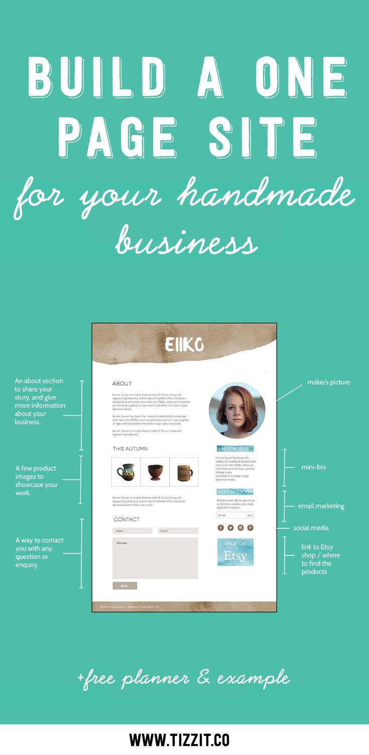 Start Here Handmade Business Wordpress Web Design Small Business Tips