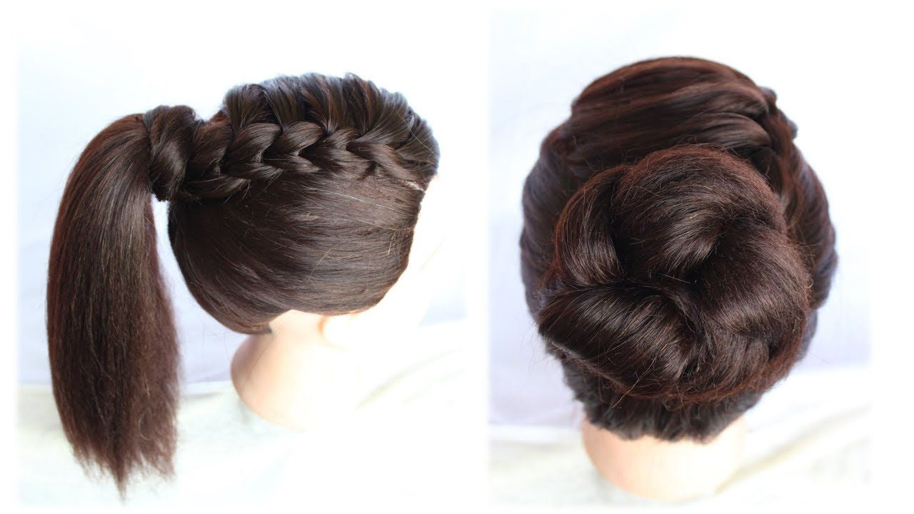 41 Hairstyle Girl Design In 2020 Easy Hairstyles Easy And Beautiful Hairstyles Natural Hair Styles