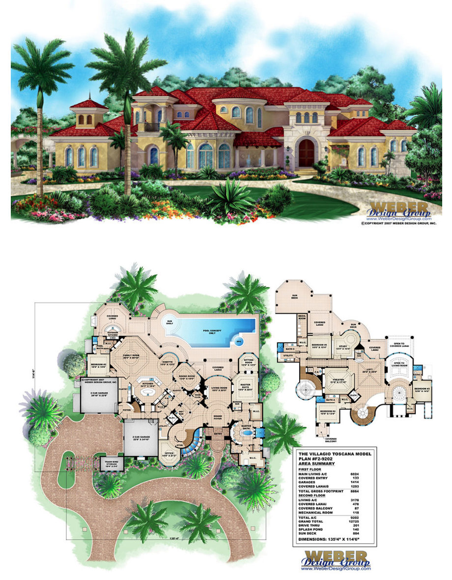 Mediterranean House Plan Luxury Mediterranean Beach Home Floor Plan Luxury House Plans House Floor Plans Mansion Floor Plan