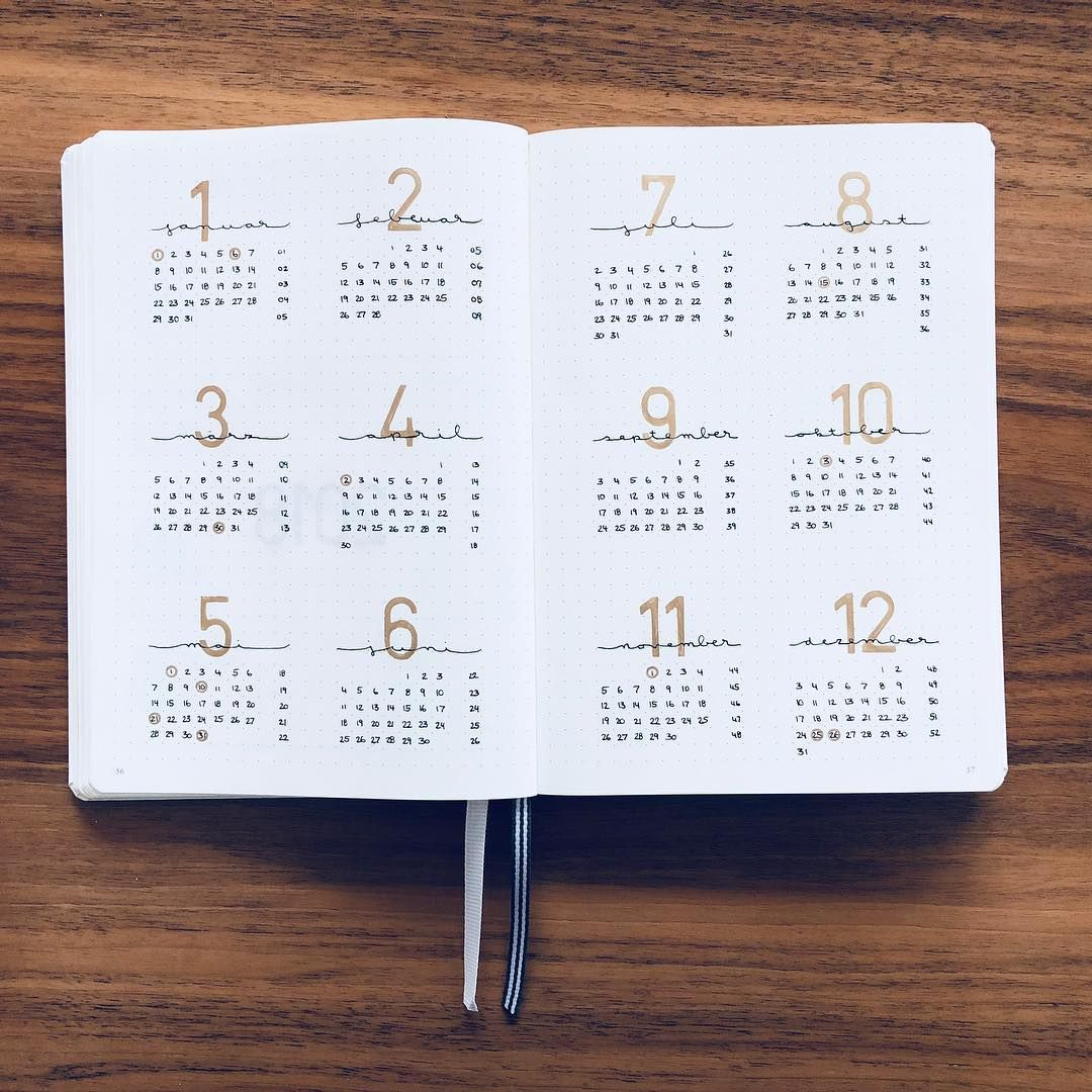 Password Journal Just 19 97: Bullet Journal Yearly Overview.
