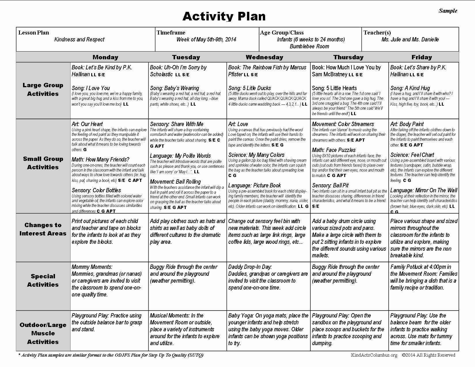 Weekly Lesson Plans For Toddlers Letter Plan Preschool Is