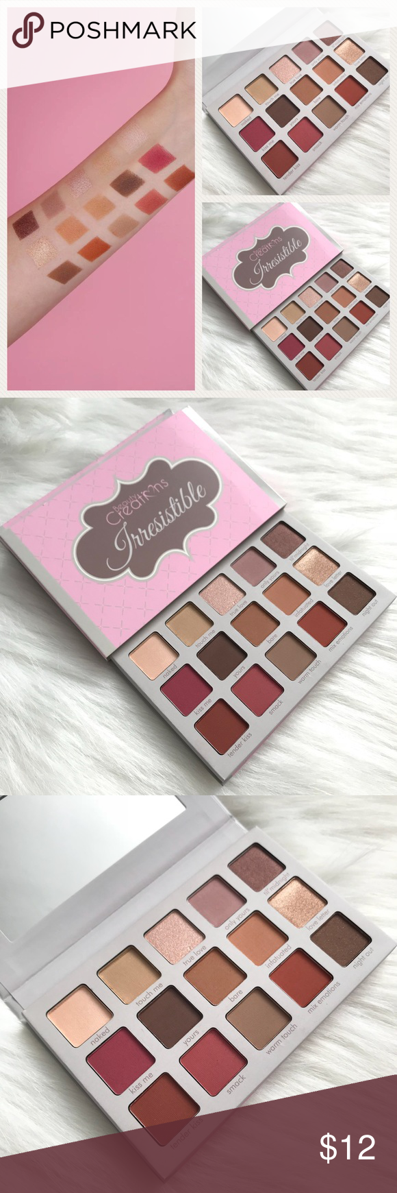Beauty Creations Irresistible Eyeshadow Palette Brand New