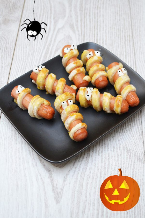 Saucisses Momies d'Halloween #decohalloweenmaison