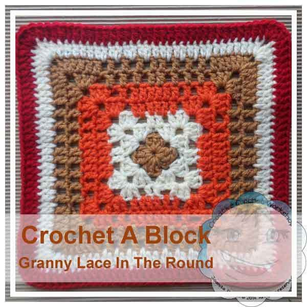 Granny Lace In The Round|Creative Crochet Workshop | Crochet | Pinterest