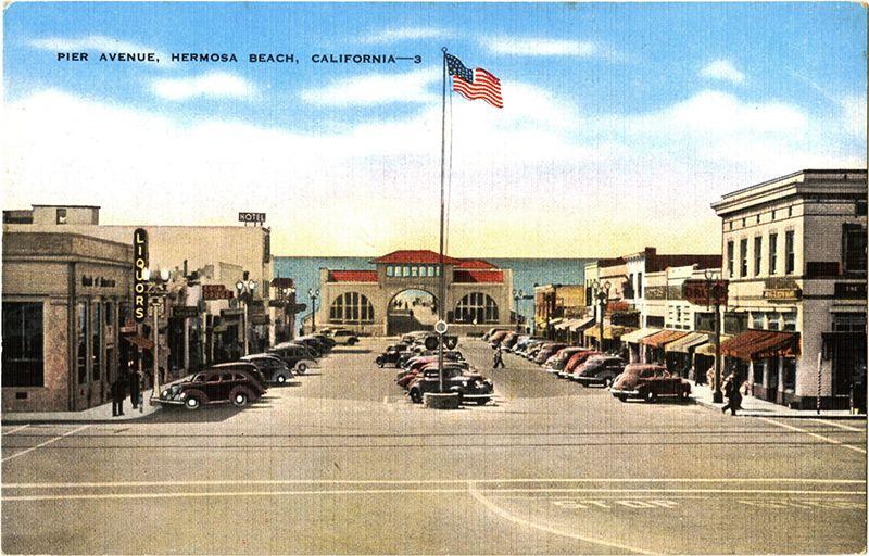 Hermosa Beach S Pier Plaza A Recent Addition To Cityscape