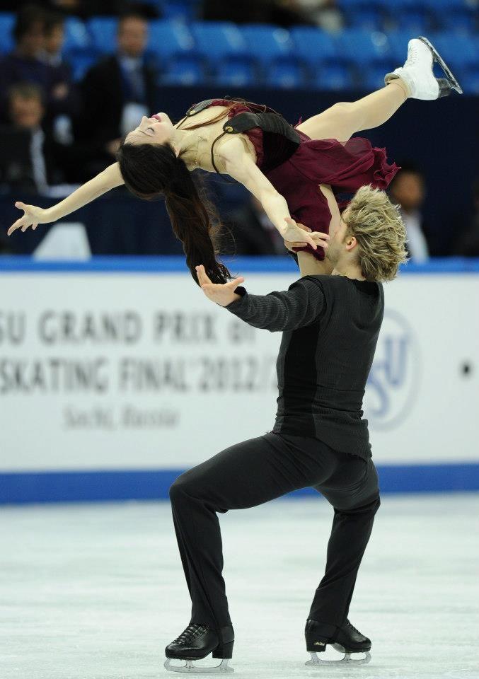 Grand Prix Final 2012 - Sochi, #Russia Meryl Davis & Charlie White (USA)