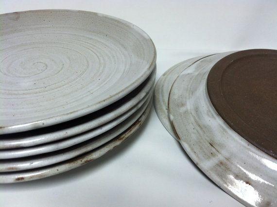 handmade dinner plates pottery dinnerware ceramic plate pottery dishes place set wedding. Black Bedroom Furniture Sets. Home Design Ideas