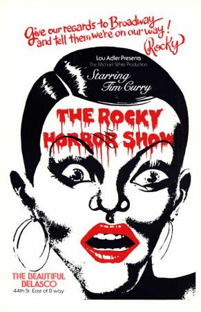 The Rocky Horror Picture Show Broadway Poster Rocky Horror Show Rocky Horror Rocky Horror Picture Show